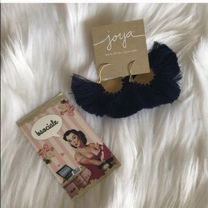collections by joya Jewelry - Collections by Joya Fringe Earrings